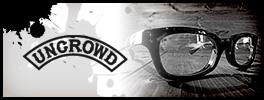 ビンテージバイカーサングラスのUNCROWD