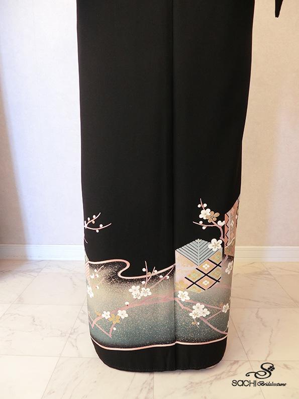 23-白梅に亀甲/30,000円
