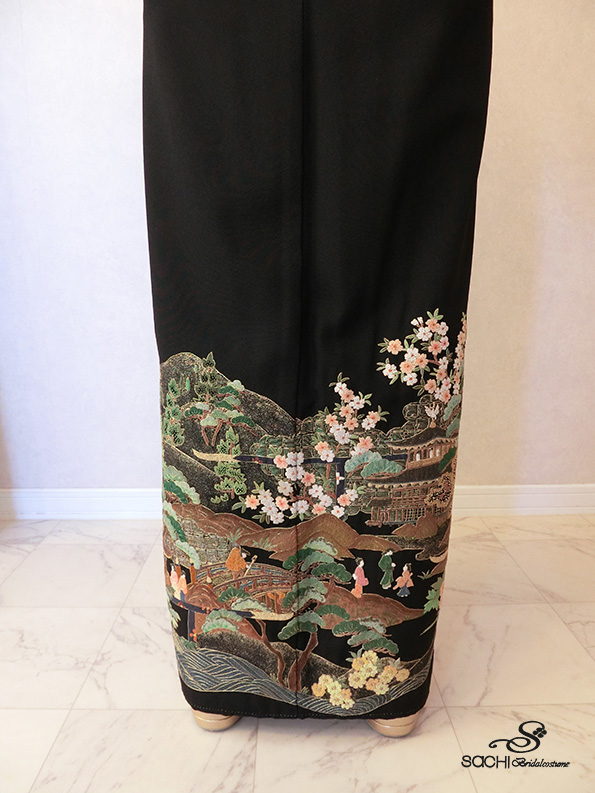 24-相良刺繍・牛車/43,000円